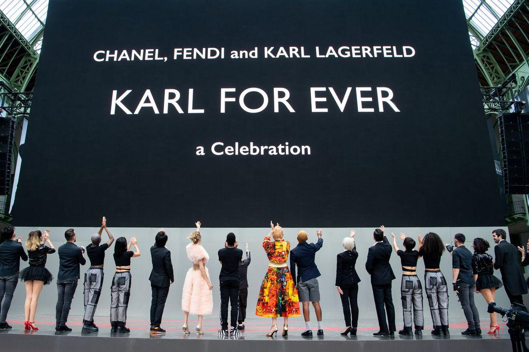 Karl Lagerfeld - Forever Tribute