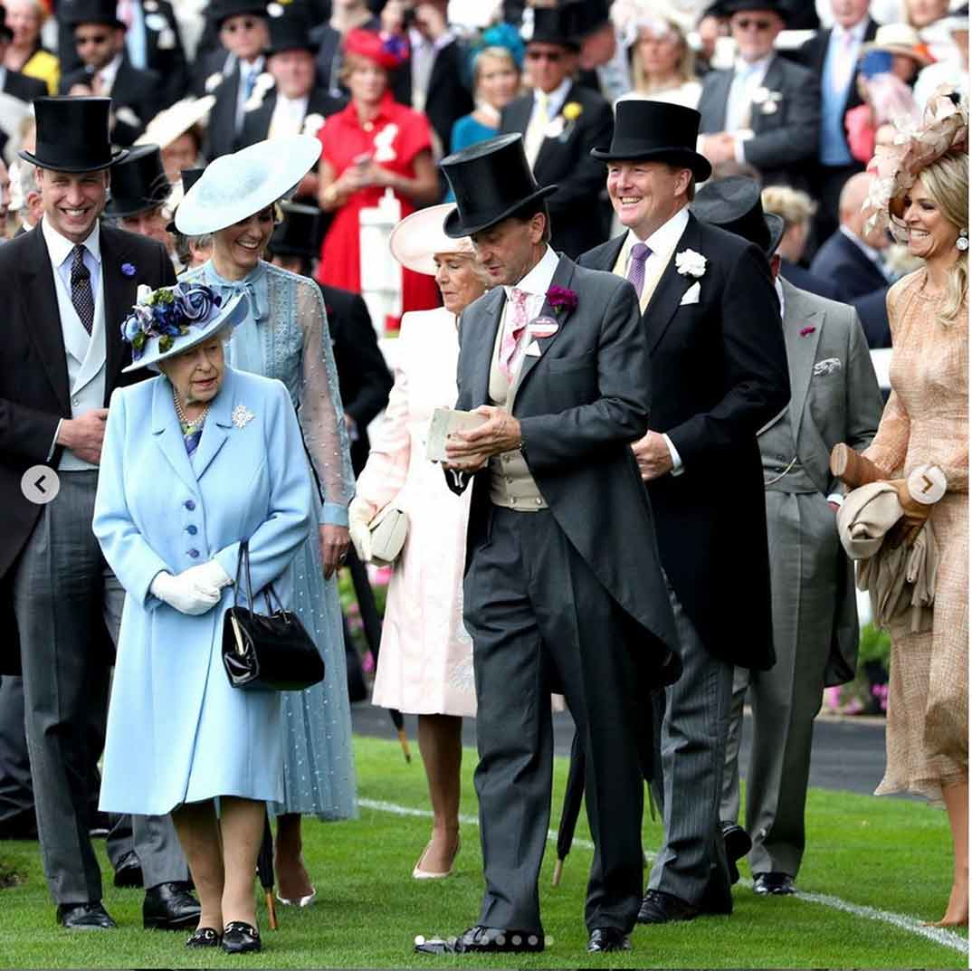 Familia Real Inglesa Ascot © theroyalfamily
