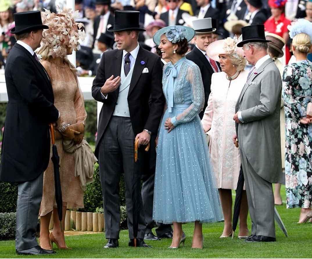 Familia Real Inglesa Ascot © kensingtonroyal