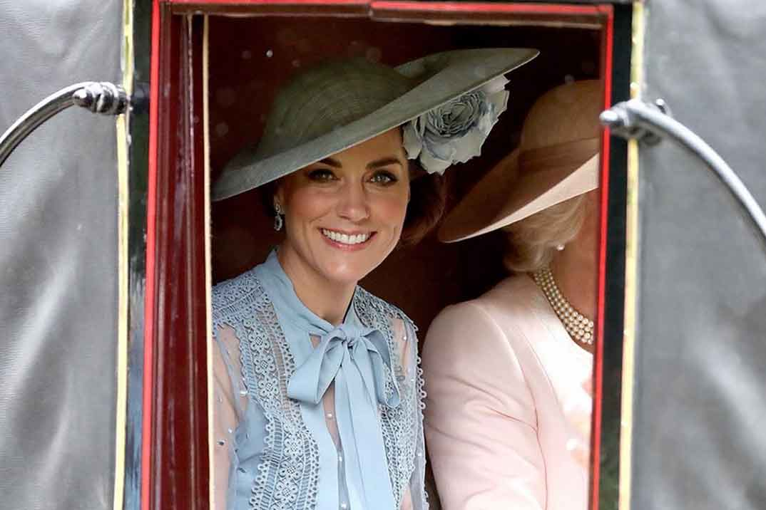 Kate Middleton sorprende en Ascot