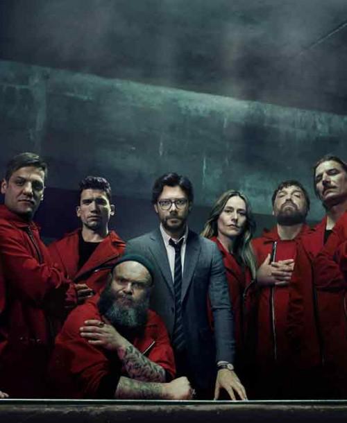 Netflix presenta el póster oficial de La casa de papel – Parte 3