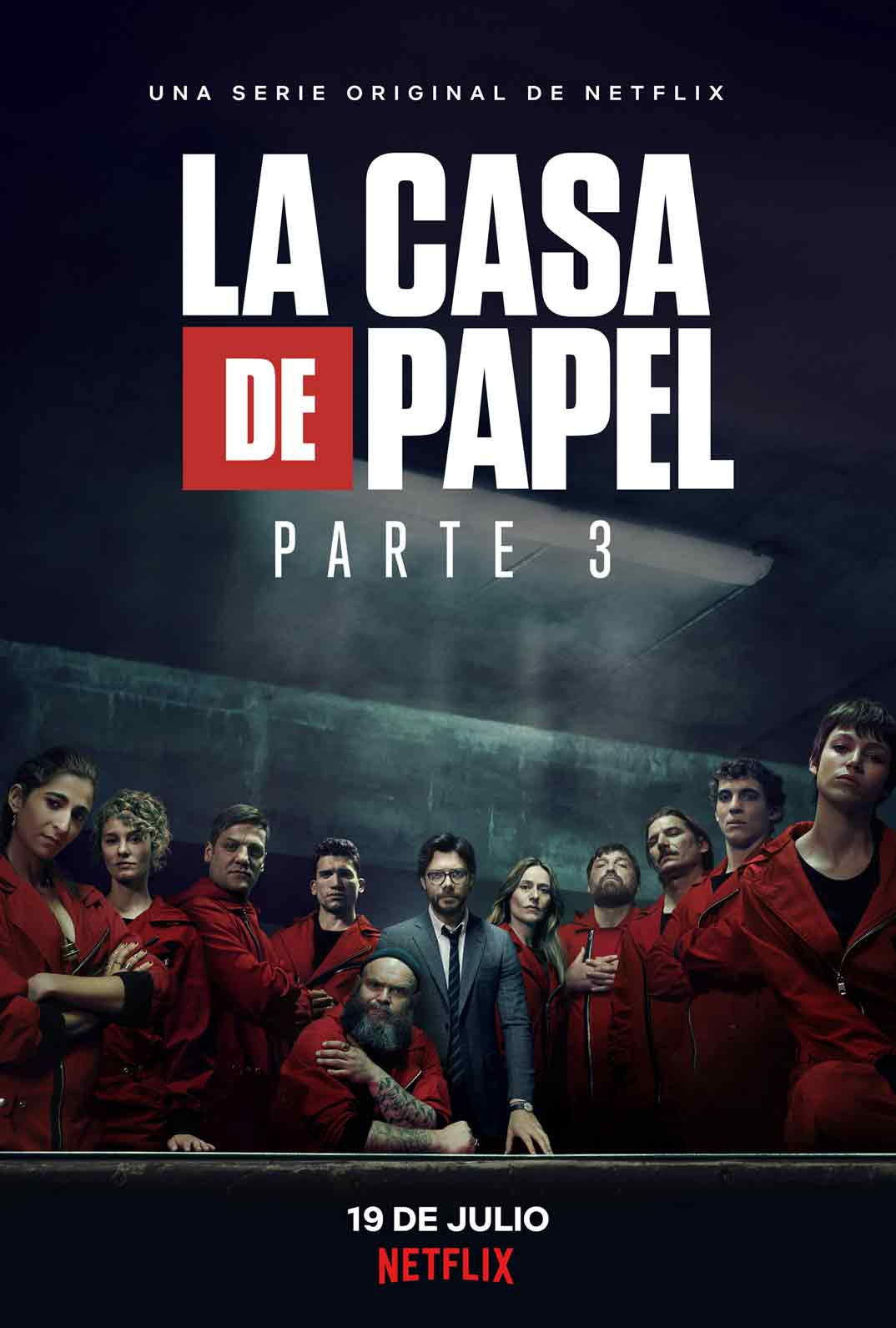 La casa de papel - Parte 3 © Netflix