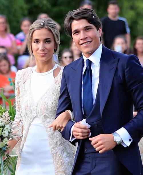 Todos los detalles del vestido de novia de María Pombo