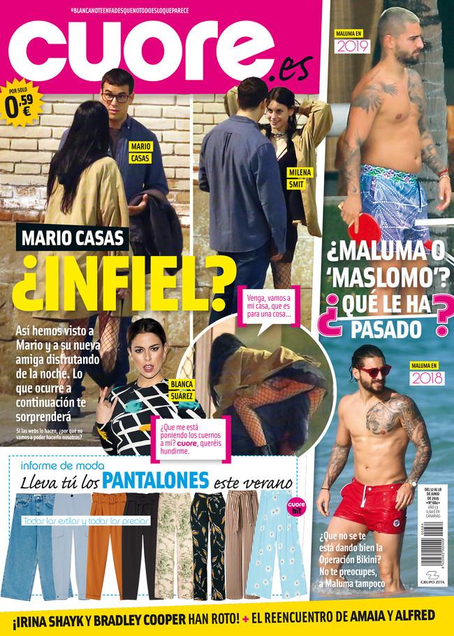 Mario Casas Mina Smit - Revista Cuore