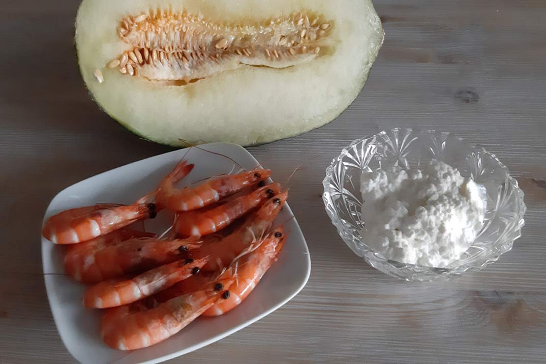 melon-langostinos-ingredientes
