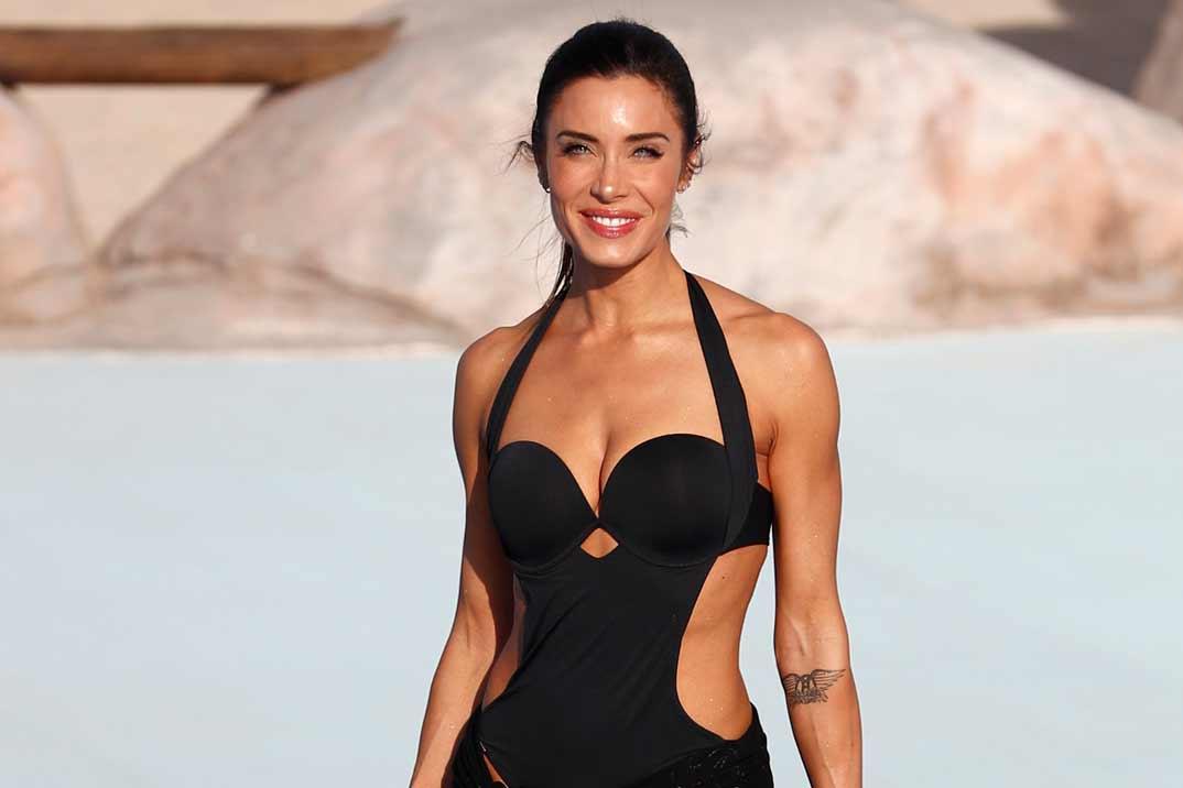 Pilar Rubio espectacular en bañador, horas antes de su boda con Sergio Ramos
