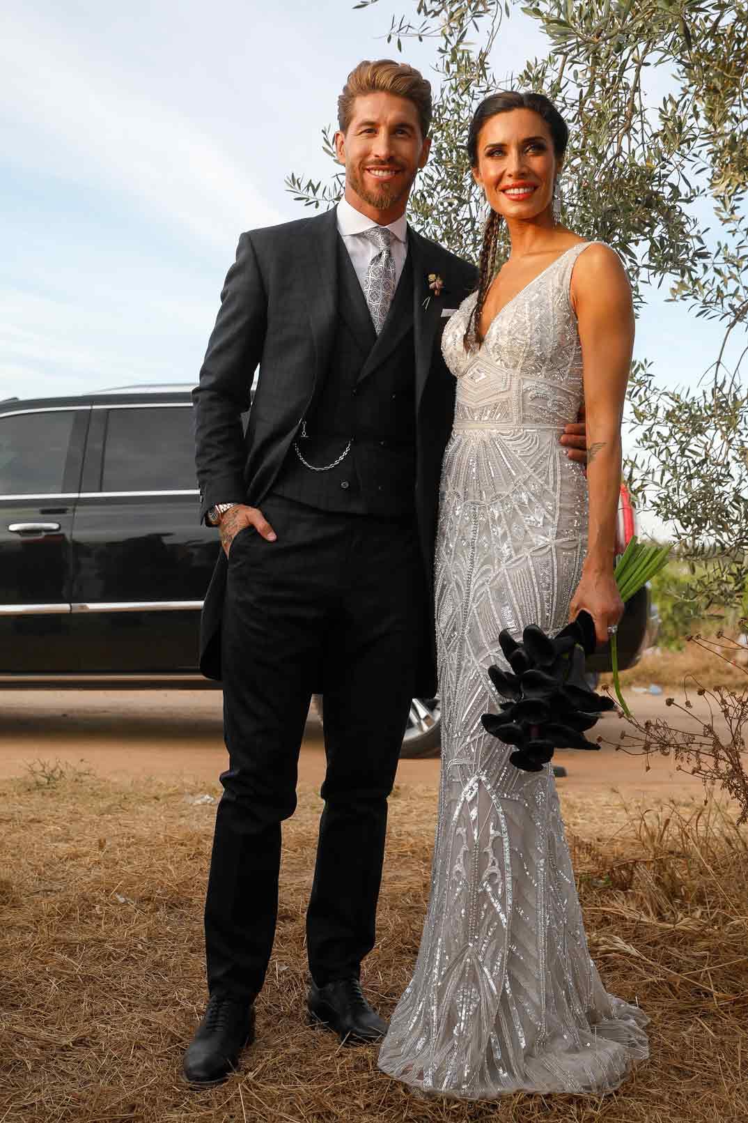Pilar Rubio y Sergio Ramos boda