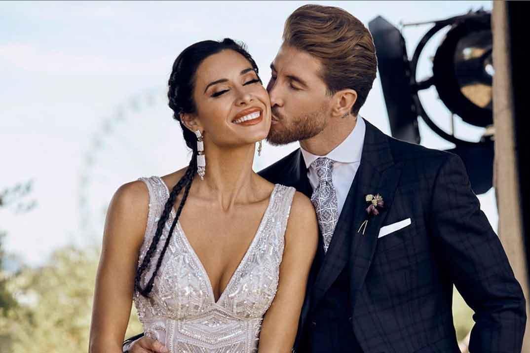 La foto más especial de la boda de Pilar Rubio y Sergio Ramos