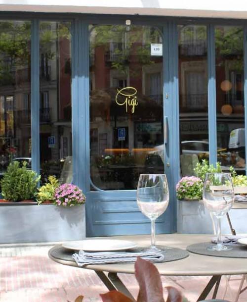 Gigi, un restaurante con estilo en Chamberí