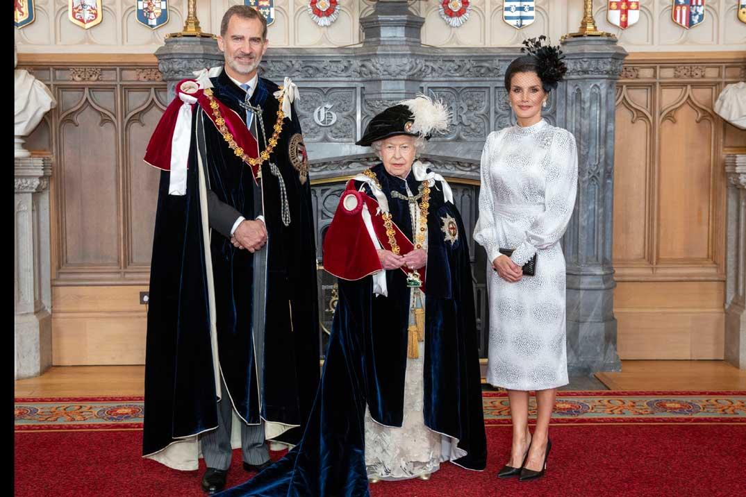 El rey Felipe VI ya es Caballero de la Orden de la Jarretera