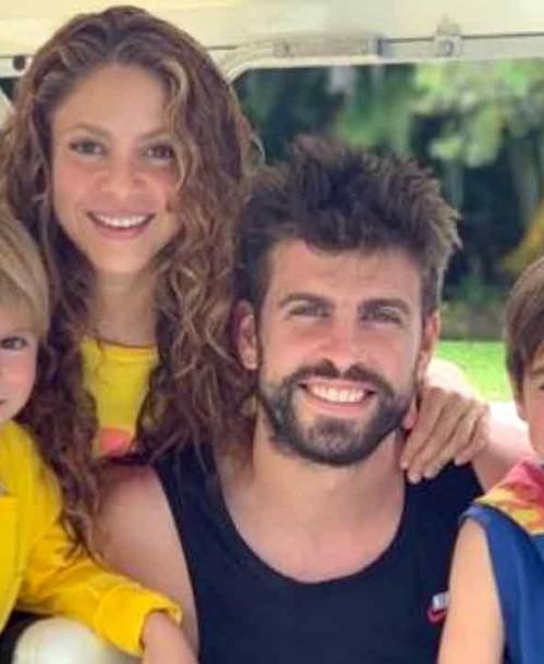 La bonita imagen familiar de Shakira y Piqué