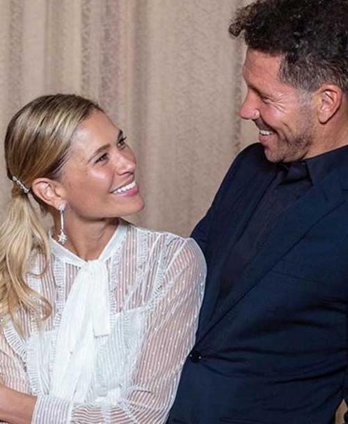 Diego Simeone y Carla Pereyra se casan en secreto