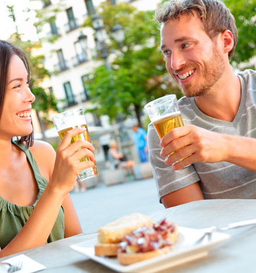 Salir de tapas y cañas sí es compatible con un estilo de vida saludable