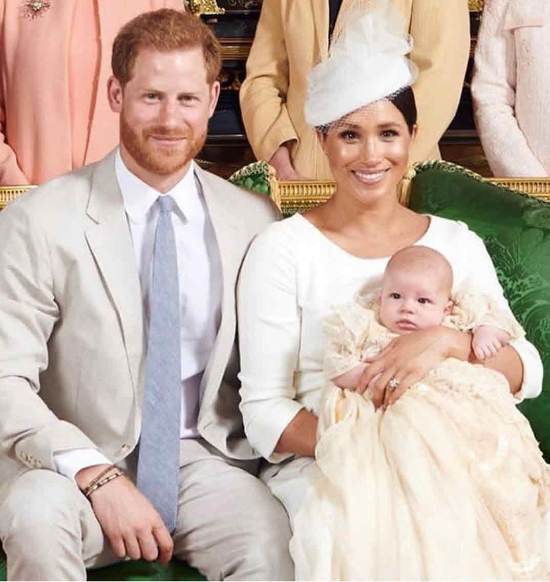 Meghan Markle - Bautizo de Archie, hijo de los duques de Sussex © sussexroyal/Instagram