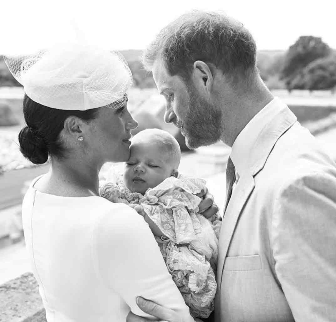 Bautizo de Archie, hijo de los duques de Sussex © sussexroyal/Instagram