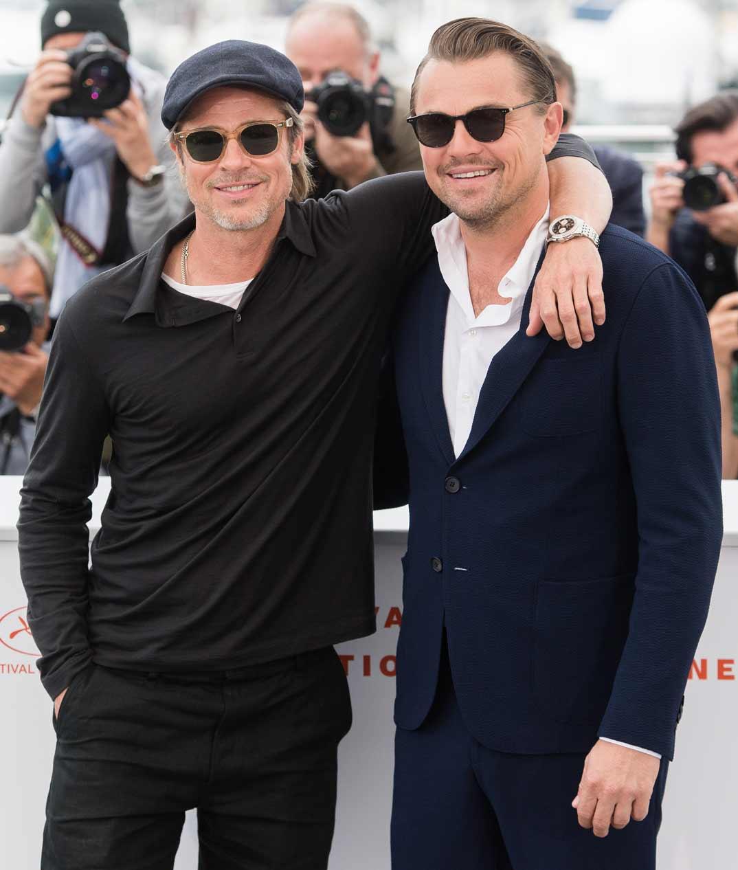 Brad Pitt y Leonardo DiCaprio - Festival de Cine de Cannes - 2019