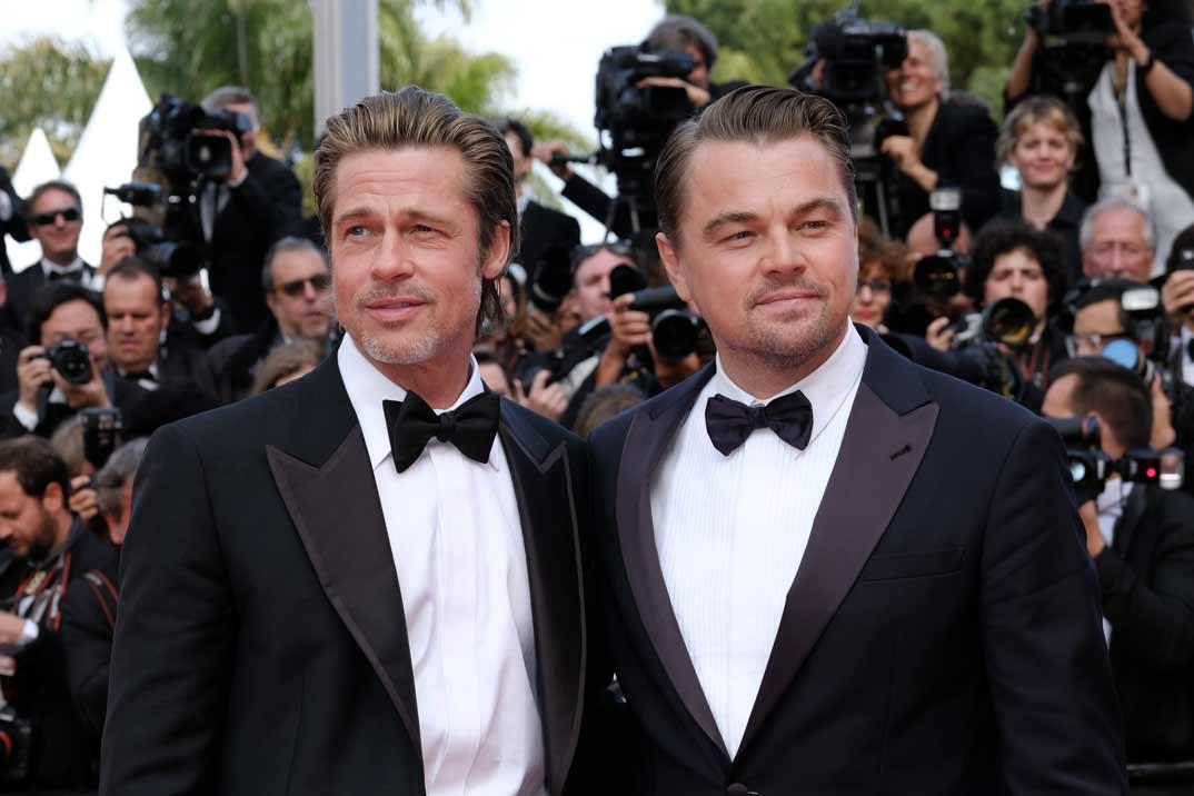 La «noche loca» de Brad Pitt con dos modelos que le presentó Leonardo DiCaprio