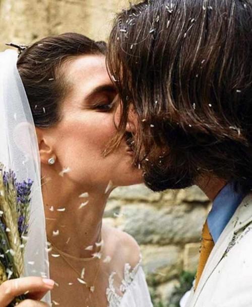 Así ha sido el vestido de novia de Carlota Casiraghi para su boda religiosa
