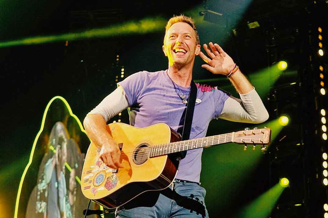 Chris Martin © Coldplay/Instagram