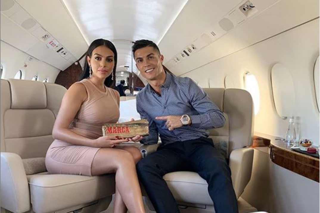 Georgina Rodríguez… ¿La doble de Kim Kardashian?