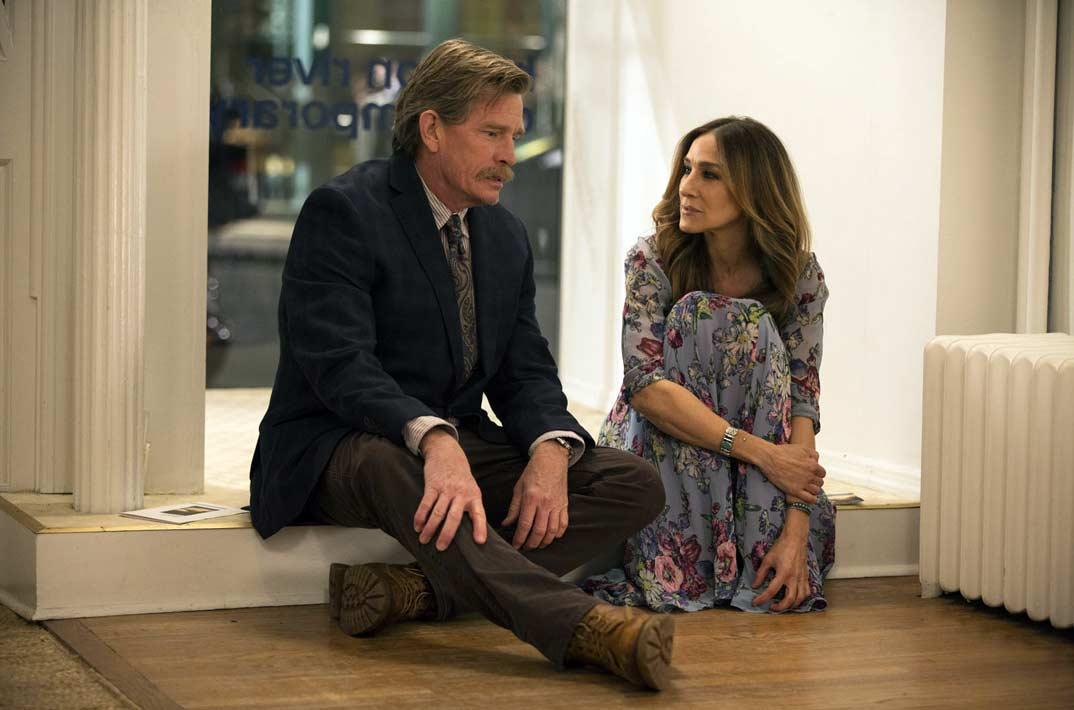 Sarah Jessica Parker y Thomas Haden Church - Divorce © HBO