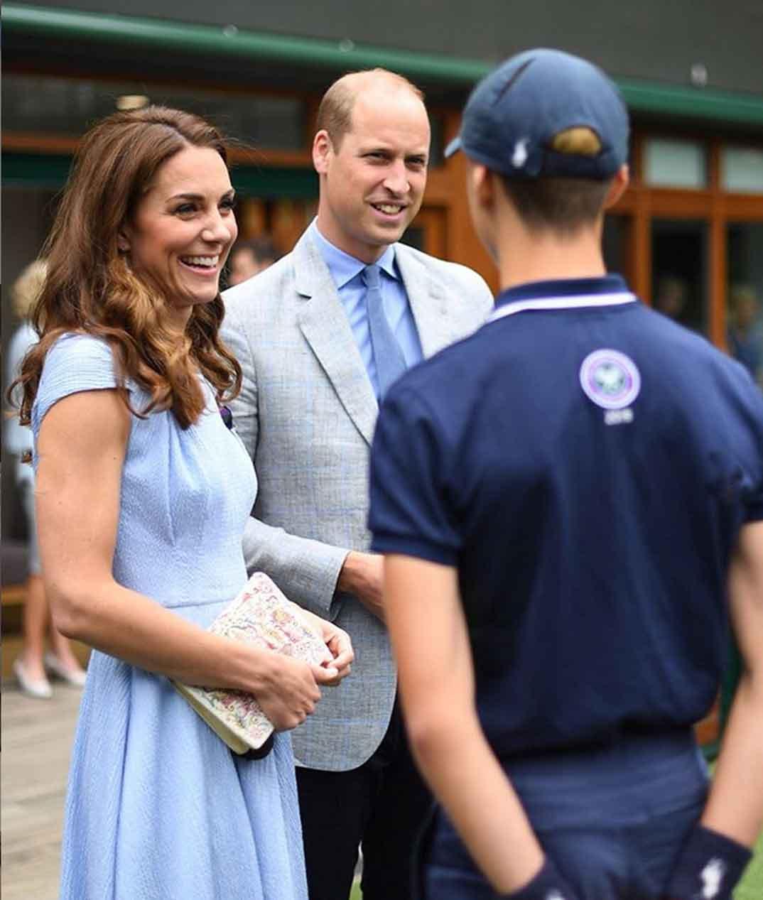 Duques de Cambridge Wimbledon © kesingtonroyal/Instagram