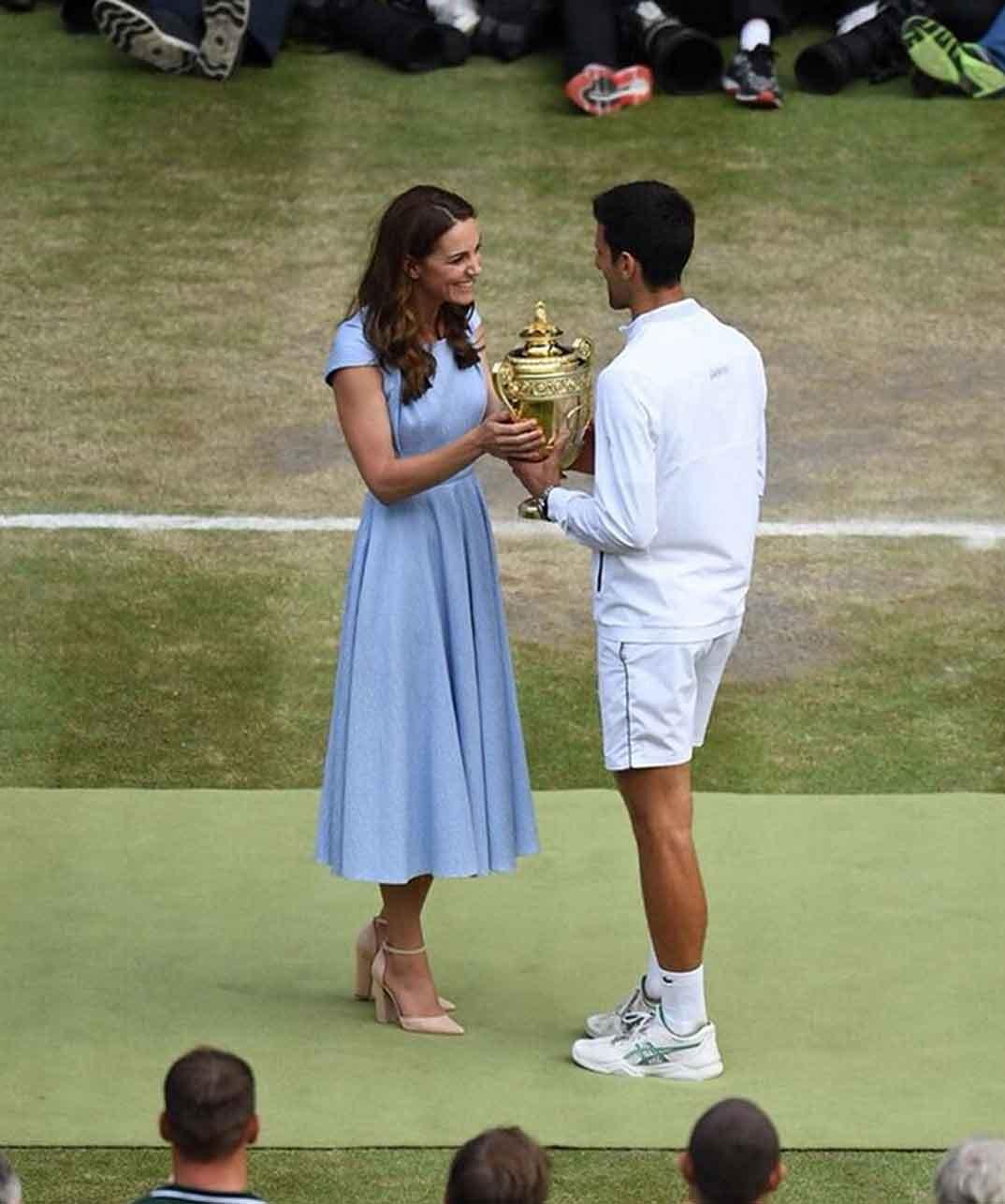 Duquesa de Cambridge Wimbledon © kesingtonroyal/Instagram
