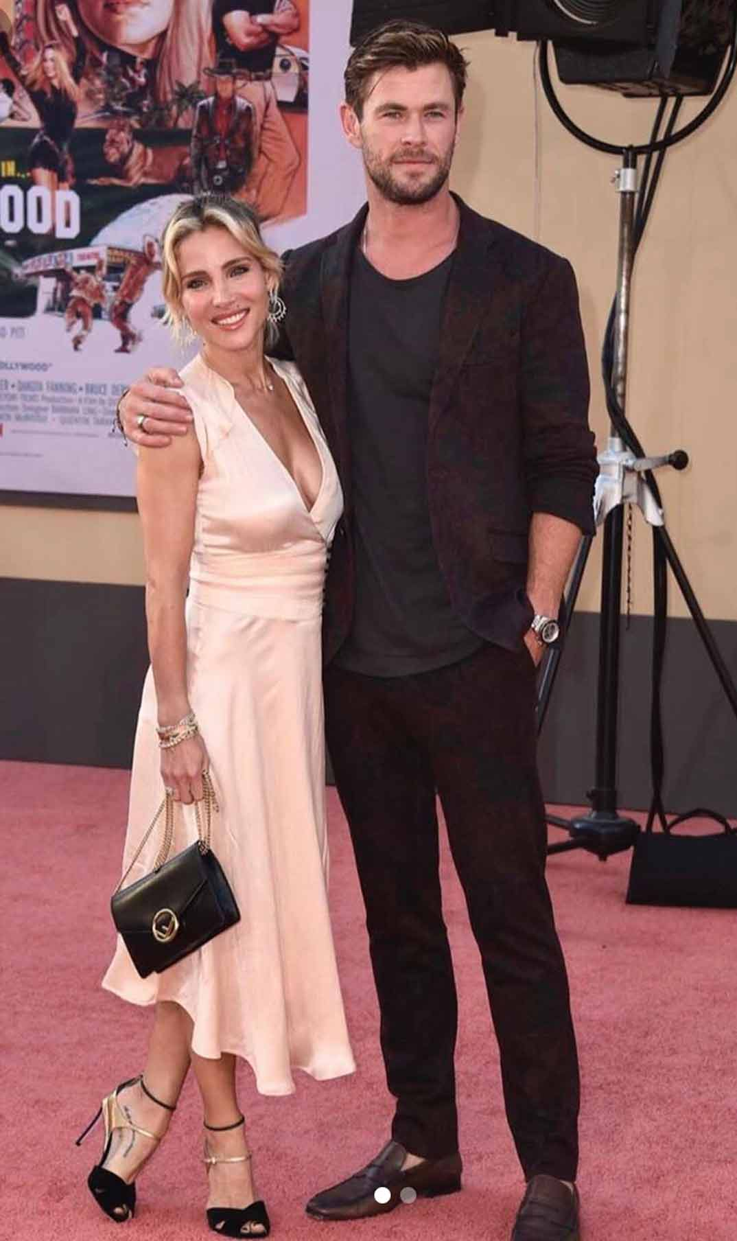 Elsa Pataky y Chris Hemsworth © Instagram