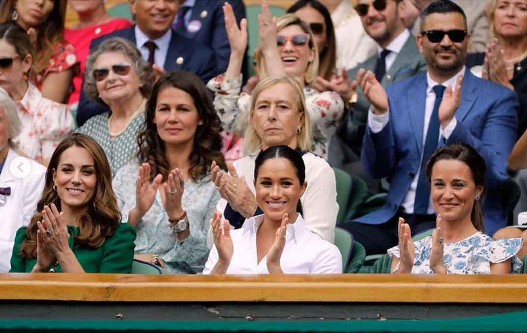 Kate Middleton, Meghan Markle y Pippa Middleton © Redes Sociales