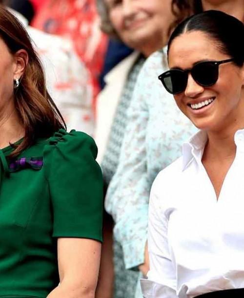 Kate Middleton y Meghan Markle, fieles a su cita en Wimbledon