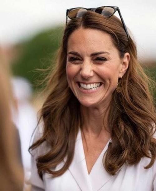Kate Middleton aparece por sorpresa en Wimbledon