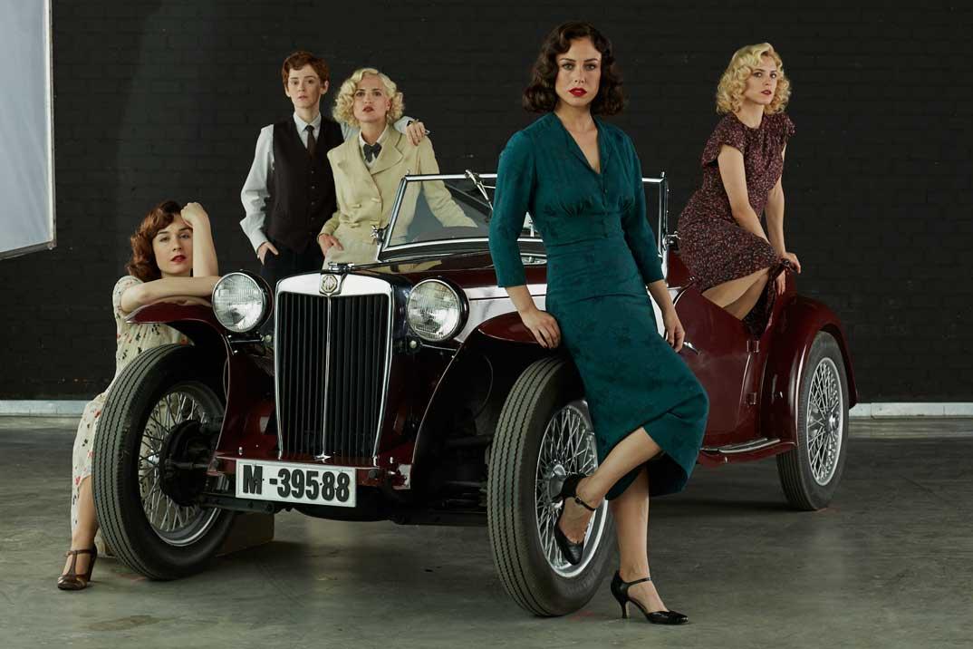Las chicas del cable- Cuarta Temporada © Netflix