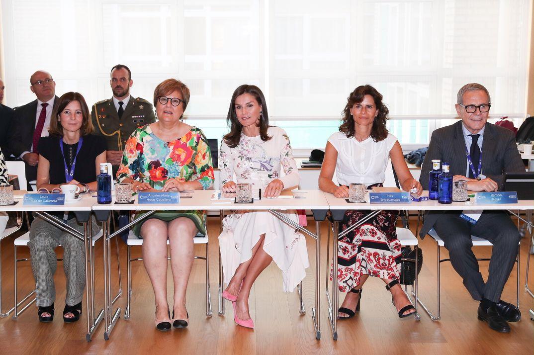 """Reina Letizia - Cumbre Internacional de Investigación en Cáncer """"International Consultation Workshop"""" © Casa S.M. El Rey"""