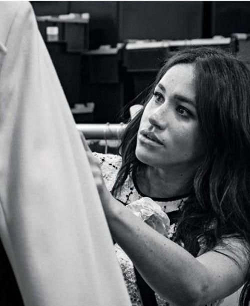 El emotivo homenaje de Meghan Markle al fotógrafo  Peter Lindbergh