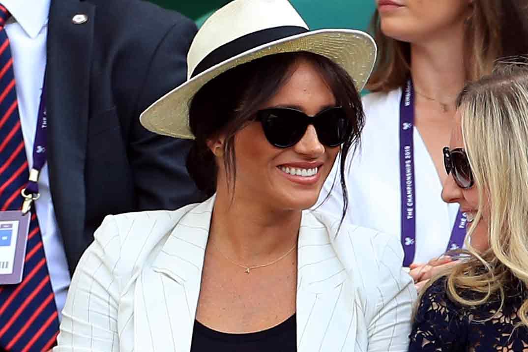 Meghan Markle aparece por sorpresa en Wimbledon