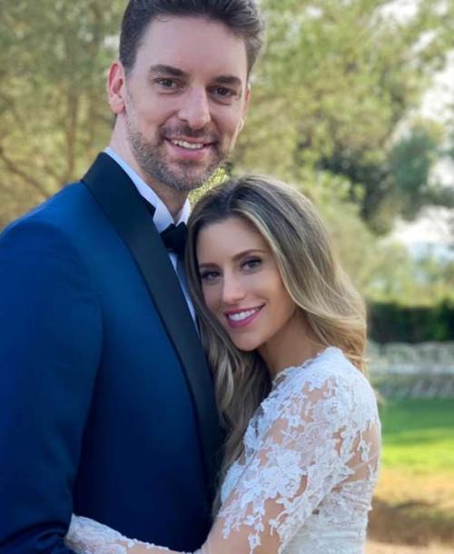Pau Gasol y Catherine McDonnell se casan por segunda vez