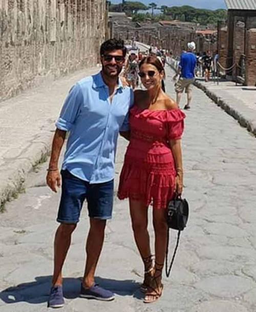 Las románticas vacaciones de Paula Echevarría y Miguel Torres en Italia