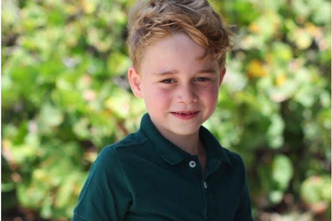 El príncipe George cumple seis años