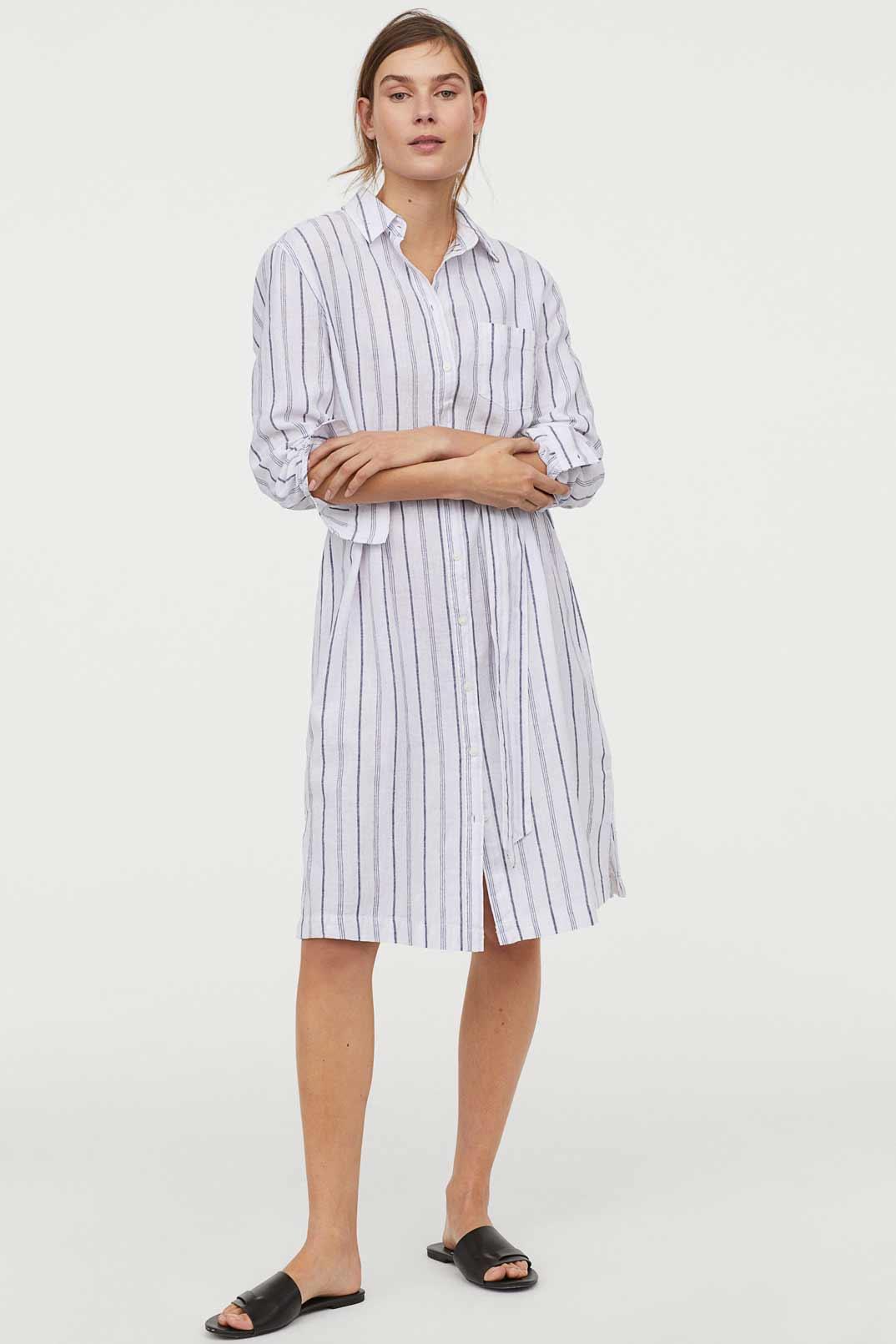 vestido-camisero-HM