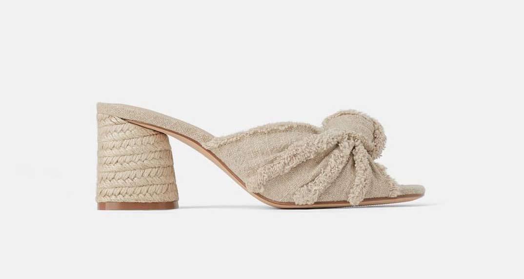 Sandalias Zara (39,99€)