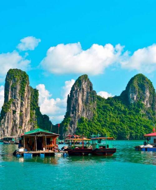 Descubre las joyas de Vietnam y Camboya