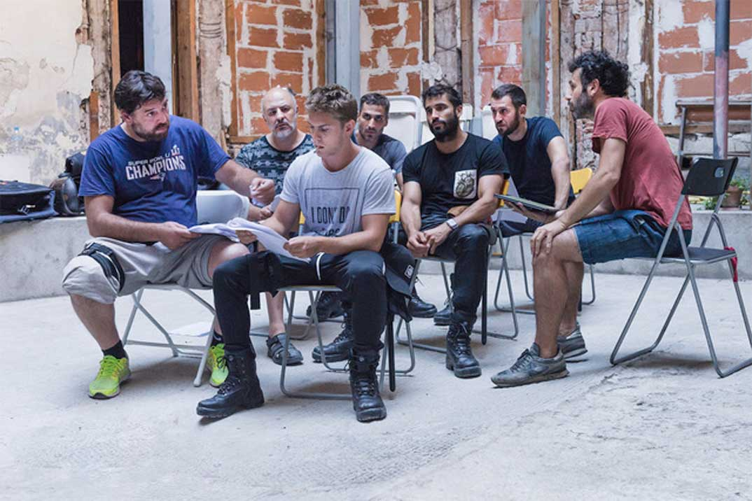 Rodrigo Sorogoyen comienza el rodaje de la serie «Antidisturbios»