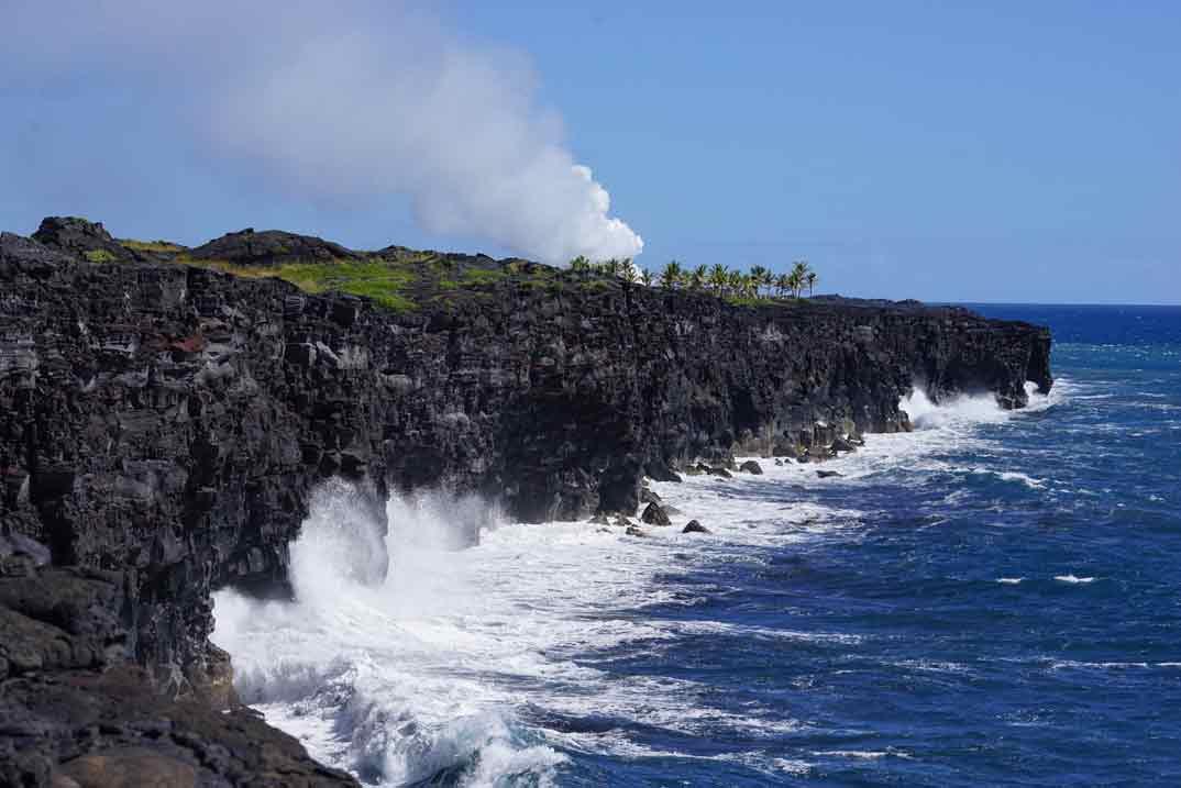 Parque Nacional de los Volcanes de Hawaii
