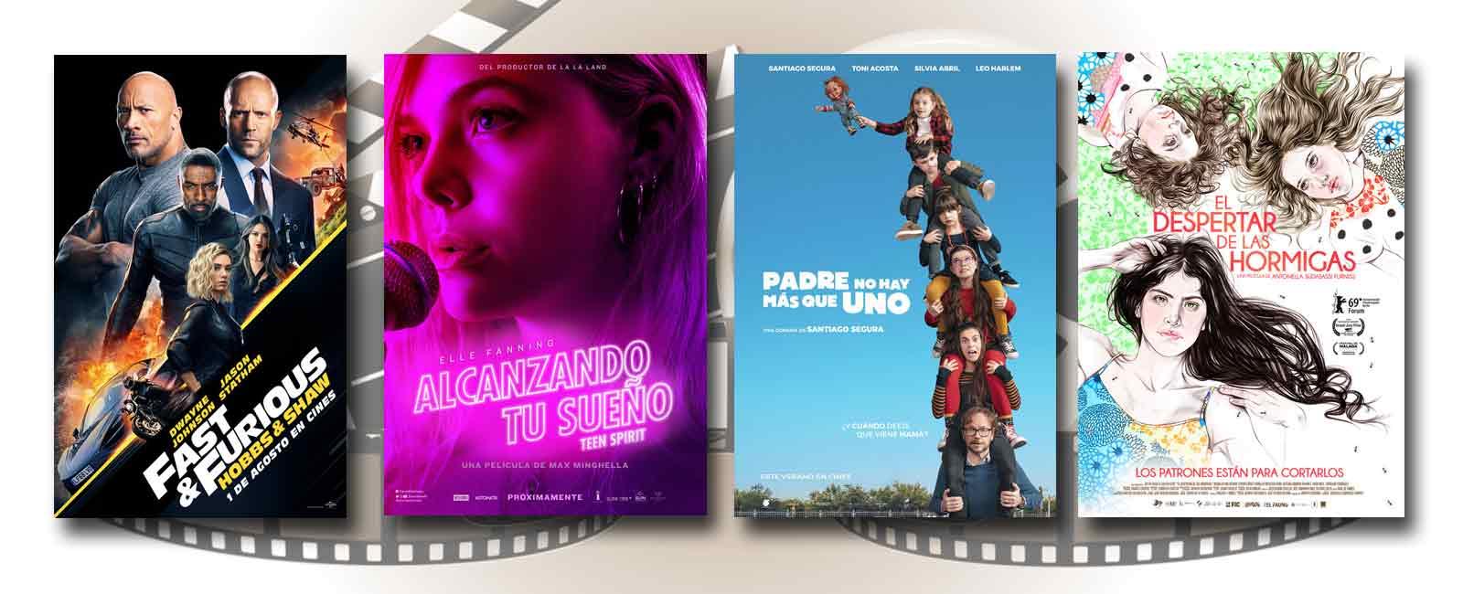 Estrenos de Cine de la Semana… 2 de Agosto 2019