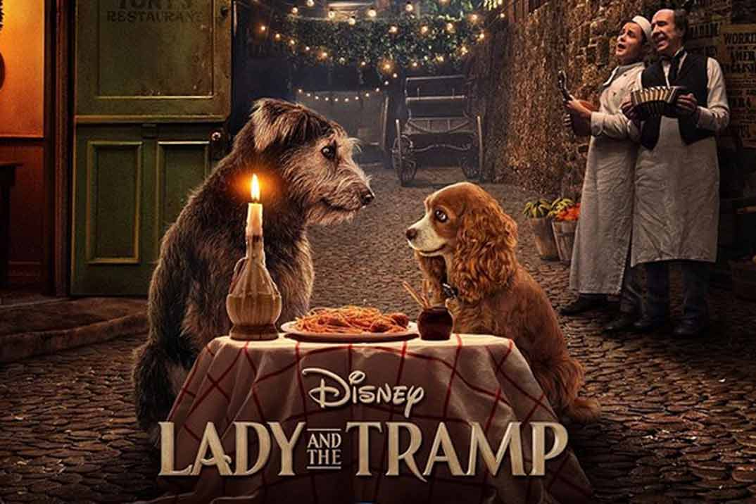 """""""La dama y el vagabundo"""": Trailer y fecha de estreno"""