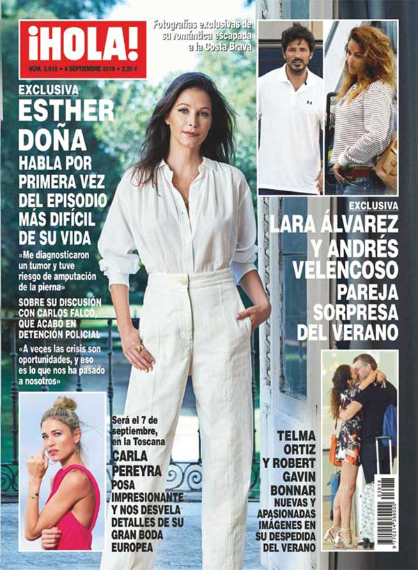 Revista Hola - Lara Álvarez y Andrés Velencoso