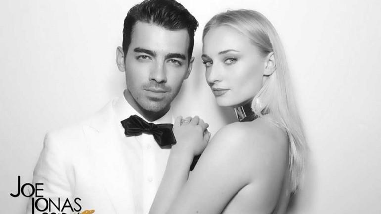 Joe Jonas y Sophie Turner © Redes Sociales