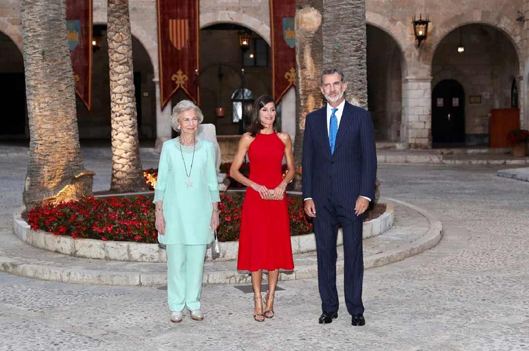 Reyes Felipe y Letizia - Recepción autoridades Illes Balears - Casa S.M. El Rey