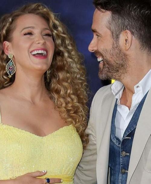 Ryan Reynolds felicita a Blake Lively con sus peores fotos