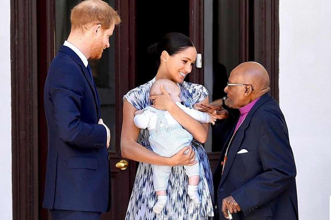 El pequeño Archie, el gran protagonista de la visita oficial de sus padres a Sudáfrica